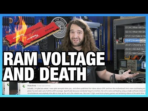 Ask GN 79: Killing CPUs with Voltage, Fan Reviews Incoming