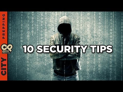 10 steps to improve your online security and stop hackers