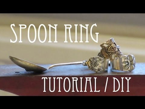 Spoon Ring || Tutorial DIY