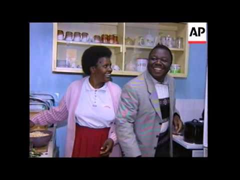 ZIMBABWE: MDC LEADER MORGAN TSVANGIRAI