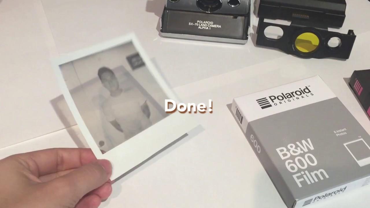 How to Make Photo Transparencies with Polaroid Originals Films
