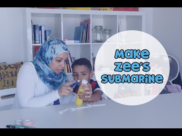 Make The Adventures of Zee Submarine | Make it Yourself (s02e03)