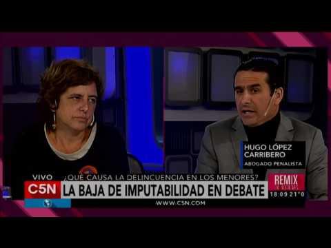 C5N - Justicia: La baja imputabilidad en debate