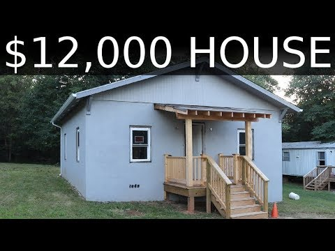$12,000 HOUSE - First Inspection & What's to come - #38
