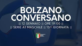 Serie A1M [13^]: Bolzano - Conversano 34-27