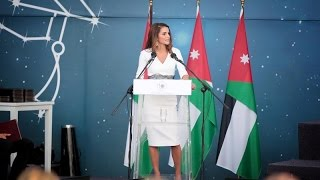 Queen Rania Speaking at IAA