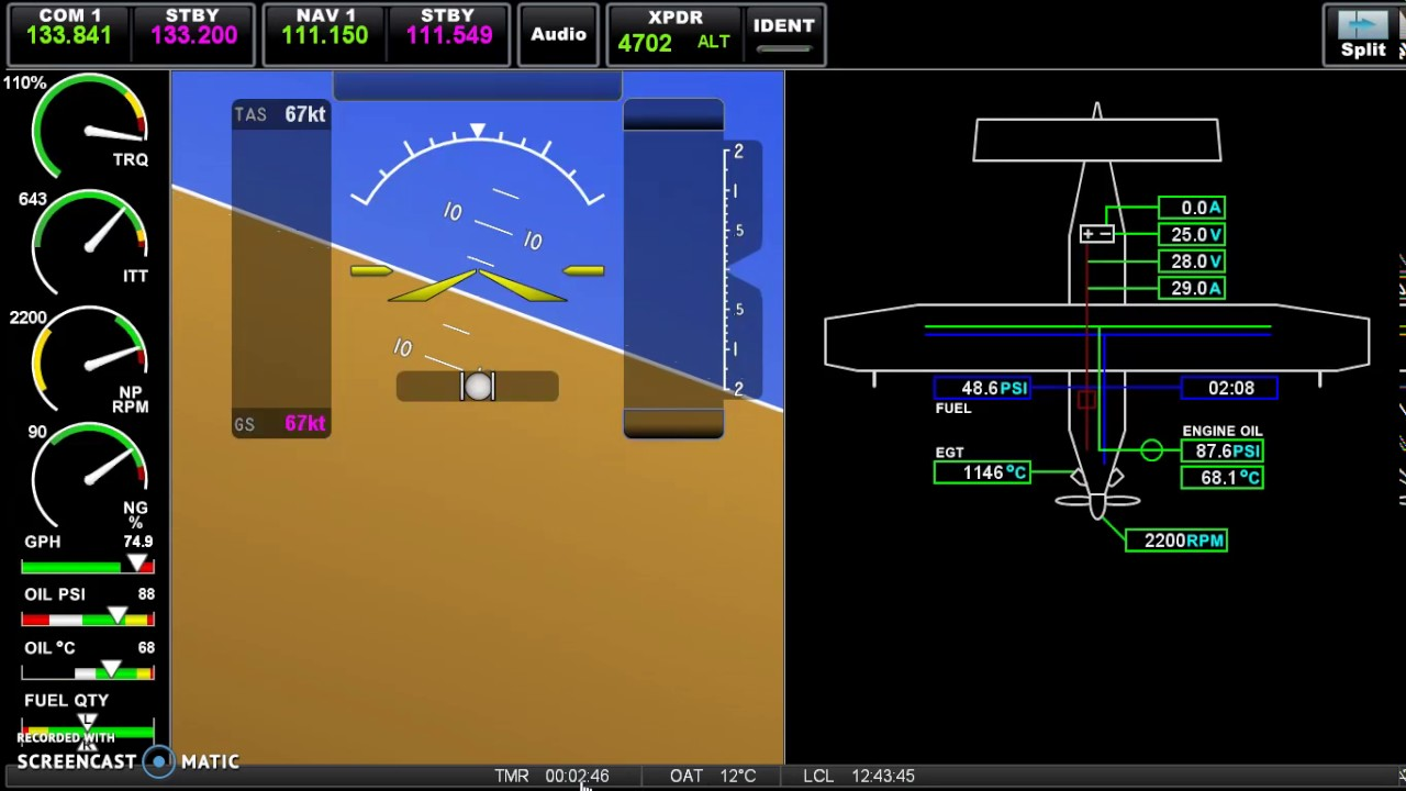 Garmin G3X touch look a like in Air Manager - update #3