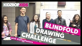 KIDZ BOP Kids - Blindfold Drawing Challenge with KidToyTesters