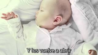"""""""Arrorro"""" Cancion de Cuna para bebes con letra - relajar - calmar - arrullar - Mozart #"""