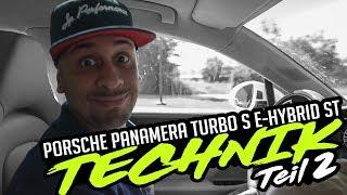 JP Performance - Porsche Panamera Turbo S E-Hybrid ST | Technik | Teil 2