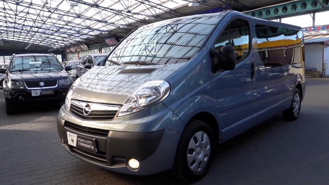 Tylko na zewnątrz Opel Vivaro BUS 9osobowy [Autocentrum Rafał i Damian Sikora] - YouTube TX25