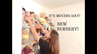Unpacking And Organizing New Reborn Babies Nursery!! Finally!!