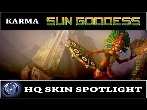 League of Legends: Sun Goddess Karma (HQ Skin Spotlight)