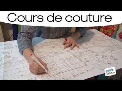 apprendre coudre reproduire un patron youtube. Black Bedroom Furniture Sets. Home Design Ideas