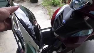 XE SH MODE Honda 2017 - THAY MẶT NẠ TRƯỚC của xe!