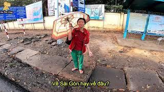 Đi Phượt Mùa Dịch - GẶP CHỐT KIỂM SOÁT DỊCH TẠI LÂM ĐỒNG - Xe Ôm Vlog