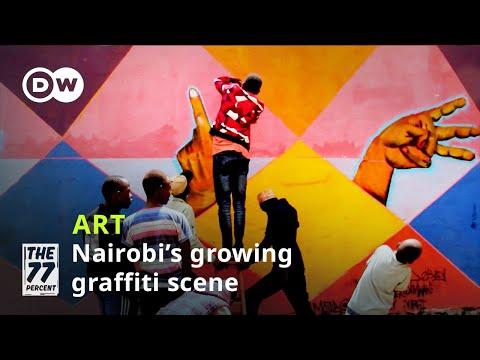 Nairobi's growing graffiti scene   Street art for the community