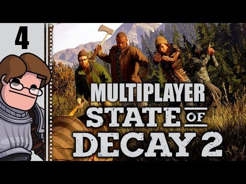 Let's Play State of Decay 2 Multiplayer Part 4 - Vinyl Dreams