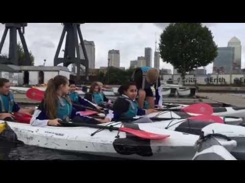 Kayaking lesson