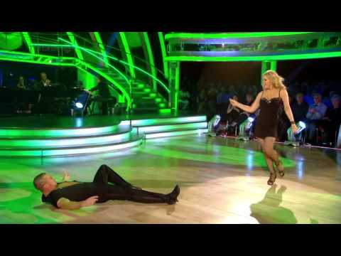 Patsy Kensit & Robin Windsor - Salsa - Strictly come Dancing - Week 2