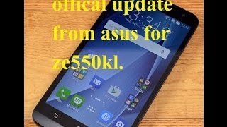 offical volte update from asus ze550kl