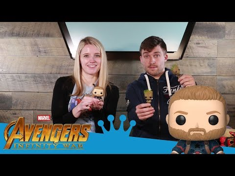 Avengers: Infinity War Pop and Plushies Unboxing