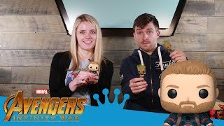 Avengers: Infinity War Pop! and Plushies Unboxing