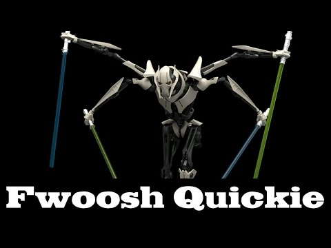 Quickie! Bandai Star Wars General Grievous 1/12 Scale Model Kit