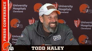 Todd Haley: We got a lot of young guys playing critical positions   Cleveland Browns