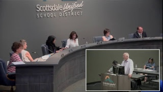 Scottsdale Unified School District Governing Board Meeting 6-12-18