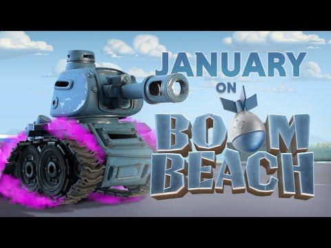 This January On Boom Beach!