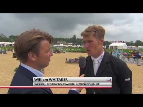 Showjumping - Will Whitaker's Winning Round - CSI 3* Bolesworth International GP