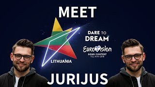 """Road to Eurovision Song Contest 2019: Lithuania with Jurijus """"Run with the Lions"""""""