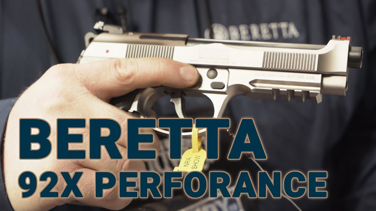 The New Beretta 92X Performance Competition Pistol at NRAAM (VIDEO)