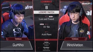 [2018 GSL Season 3] Code S Ro.16 Group B Match4 GuMiho vs INnoVation