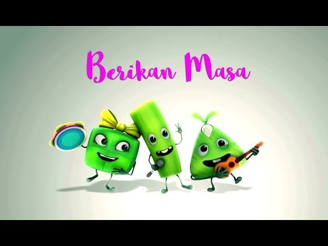 Lagu Raya Berikan Masa [MV] Juzzthin & Ceria Popstar ft. ketupat & lemang Astro - Pat, Mang & Las!