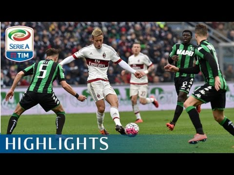 Sassuolo - Milan 2-0 - Highlights - Matchday 28 - Serie A TIM 2015/16
