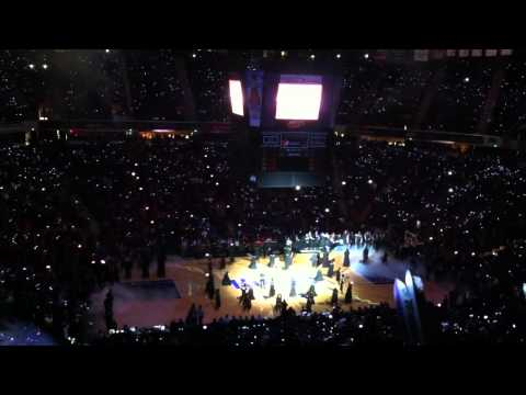 Sacramento Kings 2012 Home Opener Player Introduction