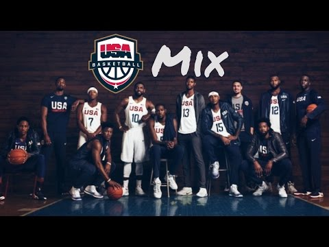 Team USA Basketball- One Nation- Olympics Mix [HD] #Gold