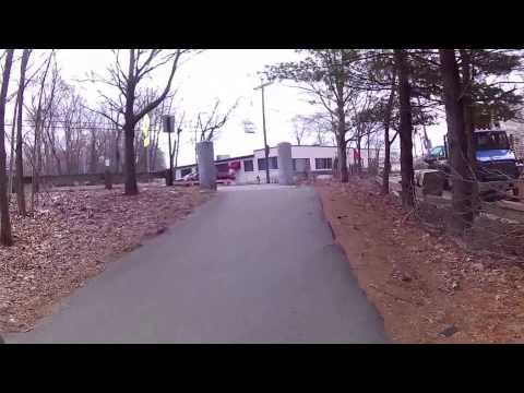 Charles River Waltham and Watertown March 2016 Virtual Cycling