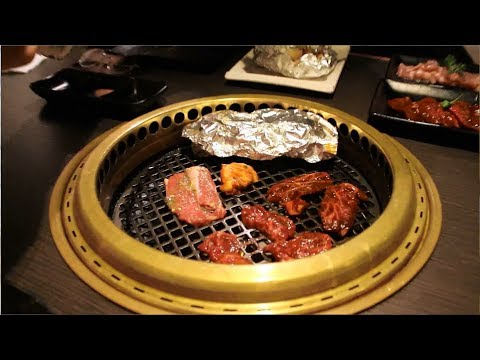Vancity Food Crew Gyu Kaku Japanese Bbq Youtube