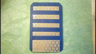 How to Make a Travelers Notebook Wallet Insert part 1/4