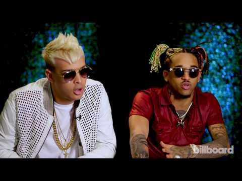 Noriel y Bryant Myers hablan del Latin Trap en Billboards 2017