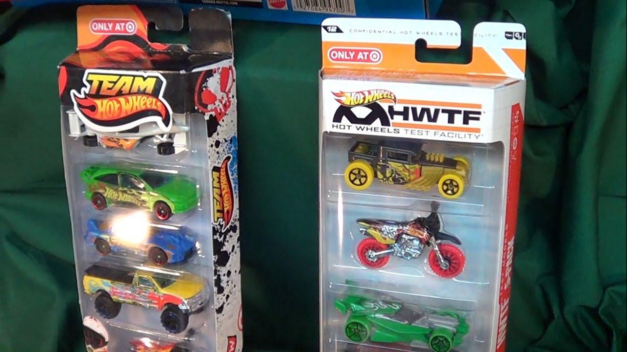 Team Hot Wheels 2012 HWTF Target Exclusive 5-Pack