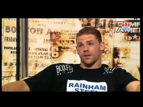 BILLY JOE SAUNDERS GOES 12RNDS/INTERVIEW WITH STEVE BUNCE