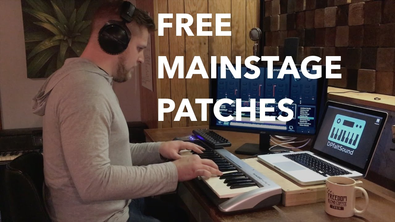 Free MainStage patches from the MainStage Starter Kit- Sunday Sounds