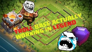 WTF! Pro players failing on this NEW BEST TH11 TROPHY BASE FOR LEGEND TROLL Clash of Clans