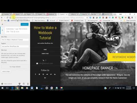 How to Make a Webbook - Video # 6 - Copy & Paste CSS Code