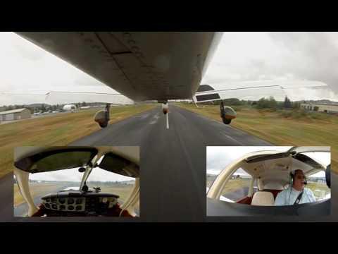 Flight from Auburn Washington to Everett Washington's Paine Field