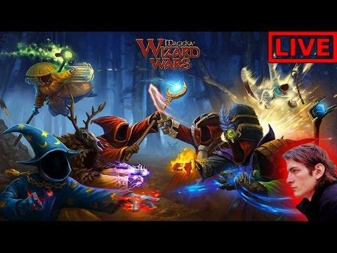 видео: Прямой эфир magicka: wizard wars — битвы колдунов mww